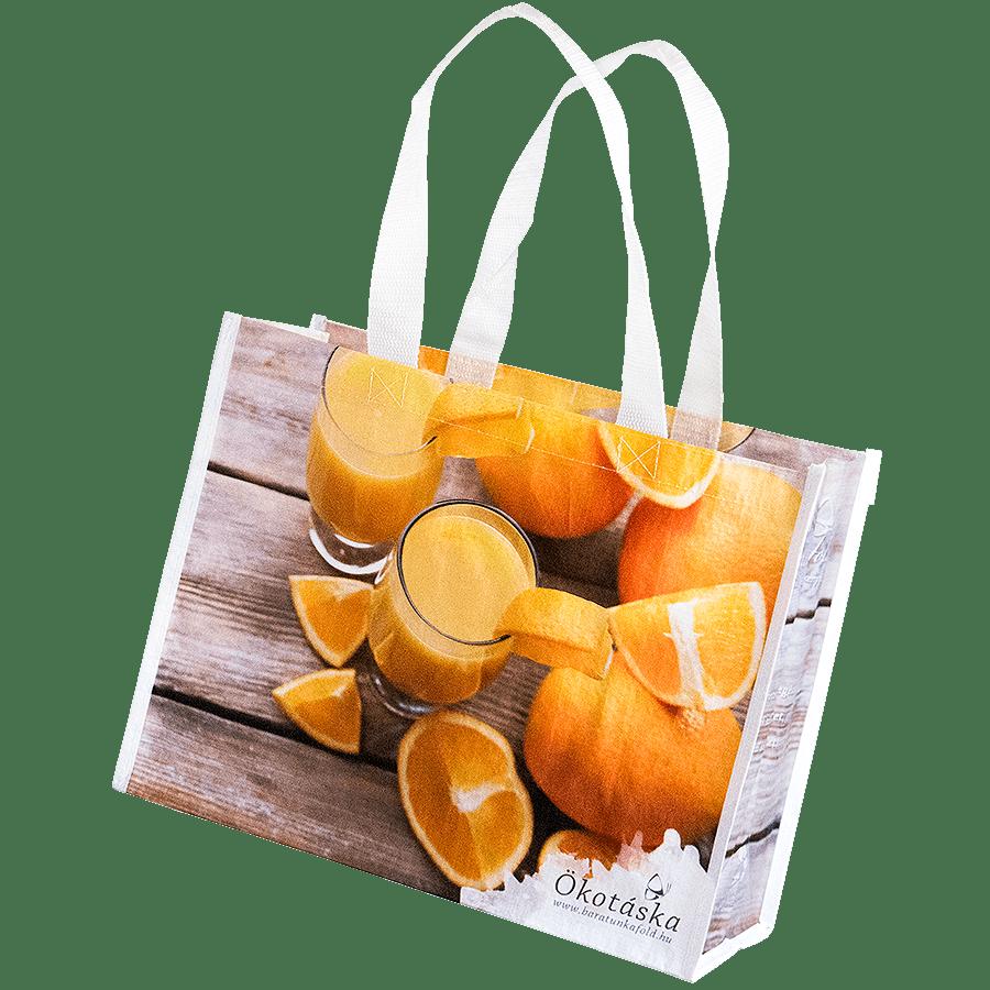 Barátunkaföld - Narancsos ökotáska – No 2.