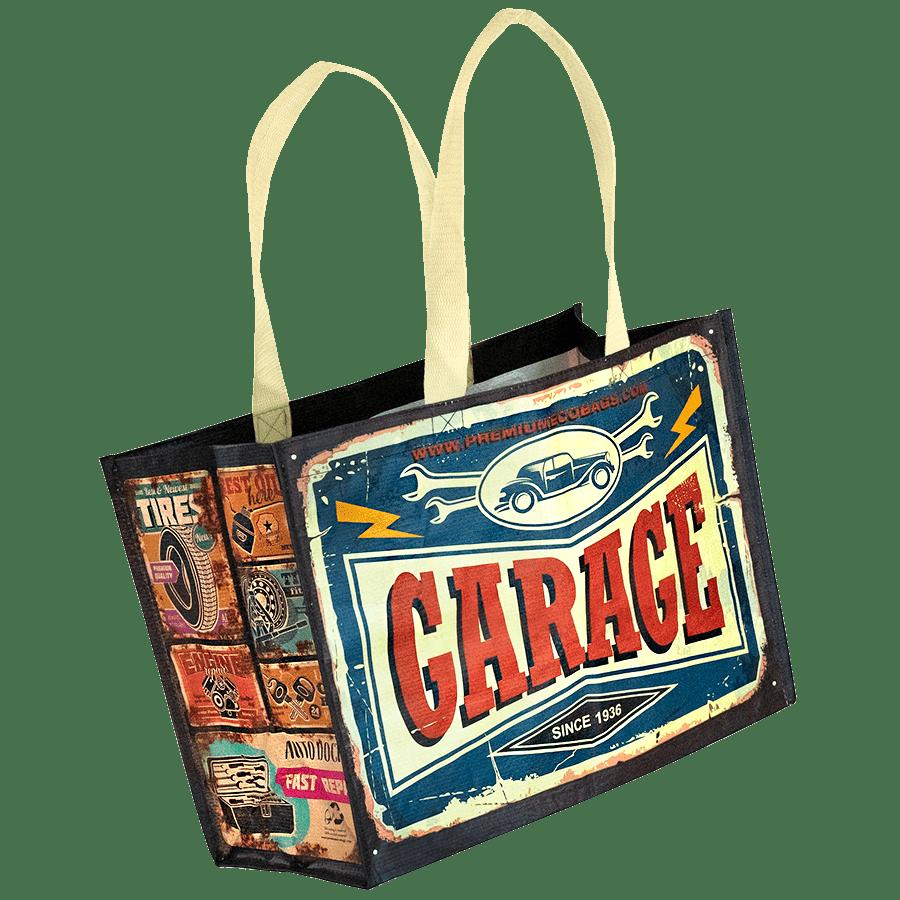 Barátunkaföld - Retro sorozat : Garage ökotáska