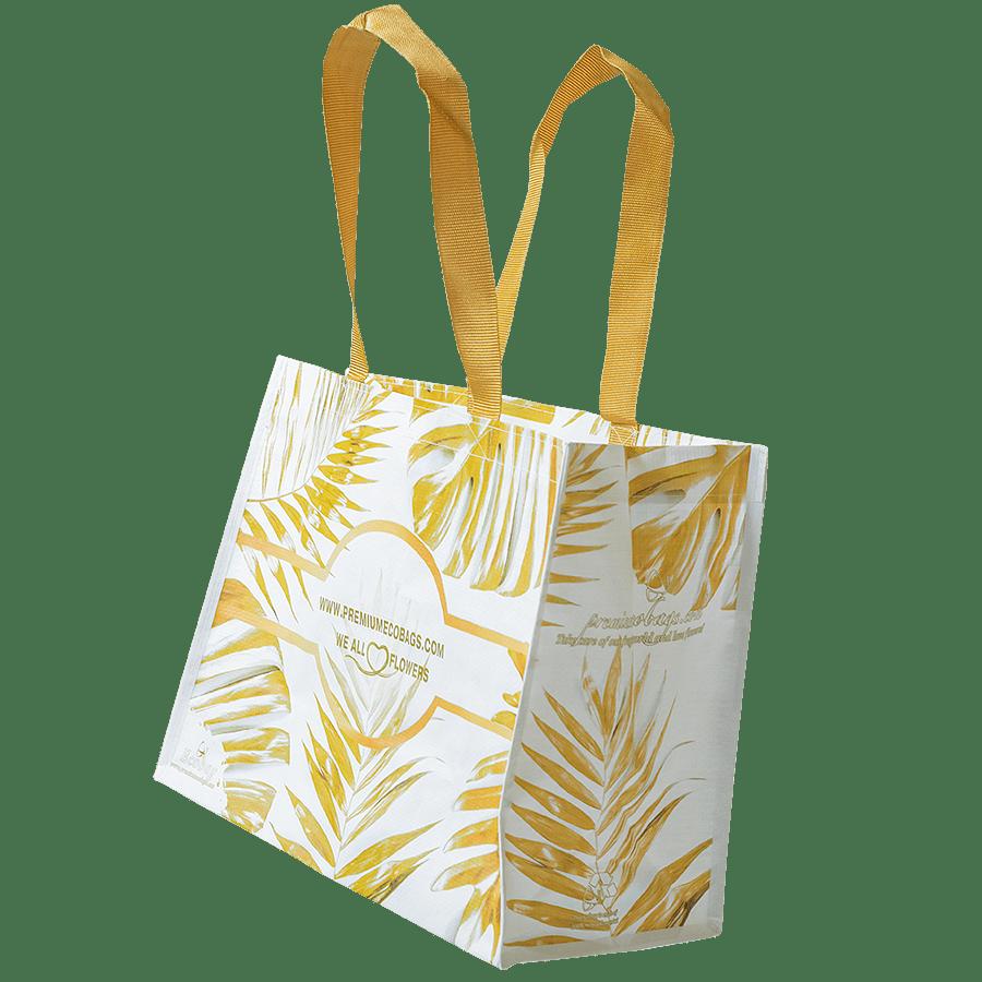 Barátunkaföld - Virágos ökotáska – Aranylevél